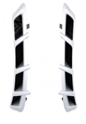 Воздухозаборники крыла, серебро
