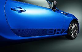 Наклейки на двери с надписью BRZ SEBDCA3400