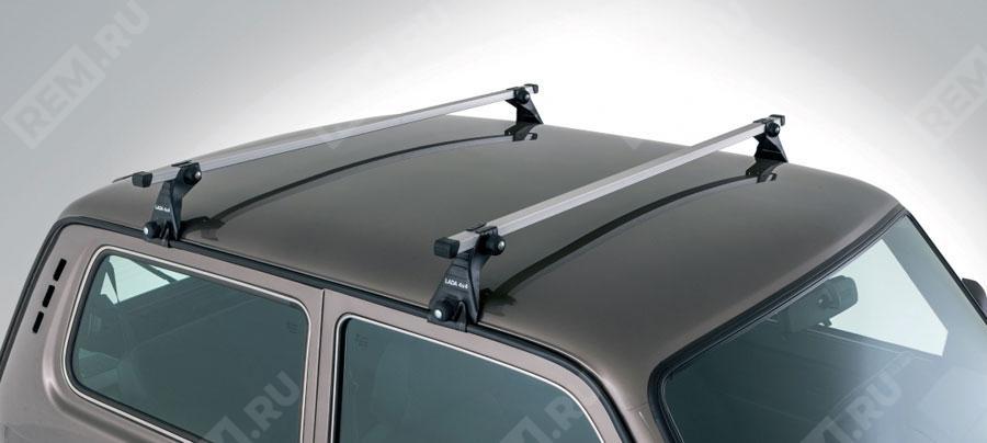 Фото Багажные поперечины на крышу, алюминий 99999212137182