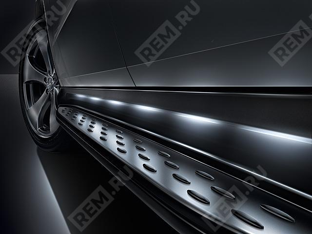 A2925200100  комплект порогов с подсветкой (фото 1)