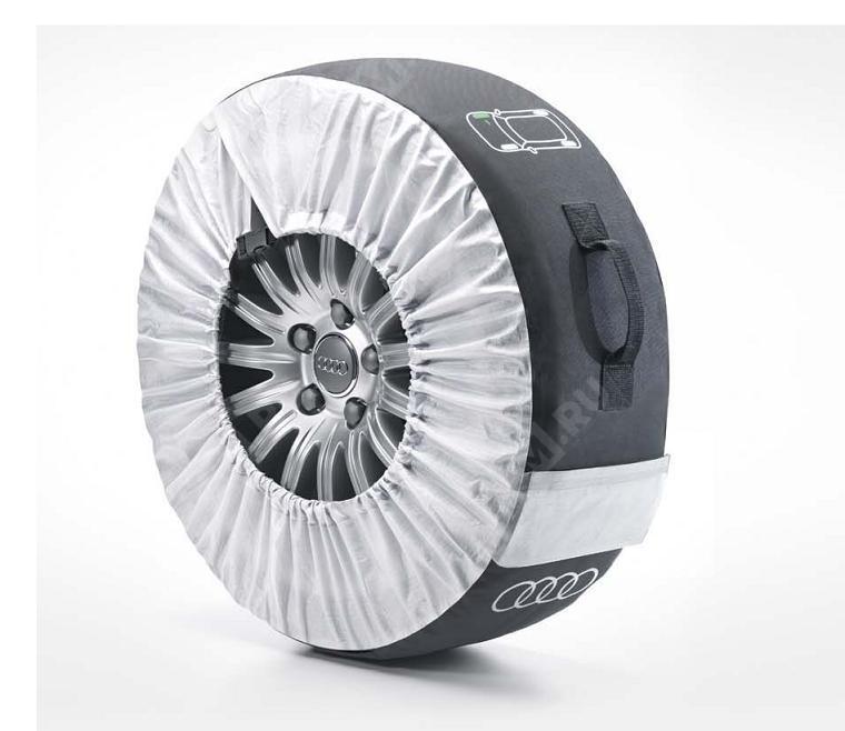 """Комплект чехлов для колес с индикатором места установки, до 18"""" 4F0071156"""