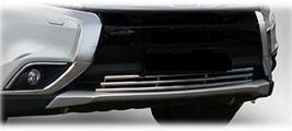 Фото Решетка переднего бампера D10 мм, нержавеющая сталь RU000199