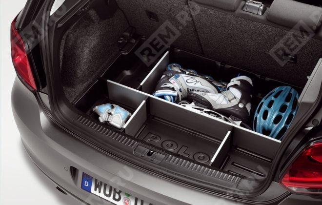 Поддон в багажник с разделительными перегородками 6R0061162