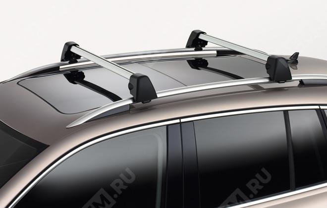 Багажные поперечины на крышу с рейлингами 5N0071151