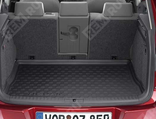 Ковер в багажник жесткий (низкий фальшпол) 5N0061181