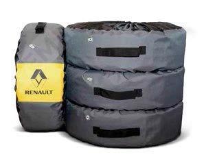 Фото Комплект чехлов для колес Renault 7711813411