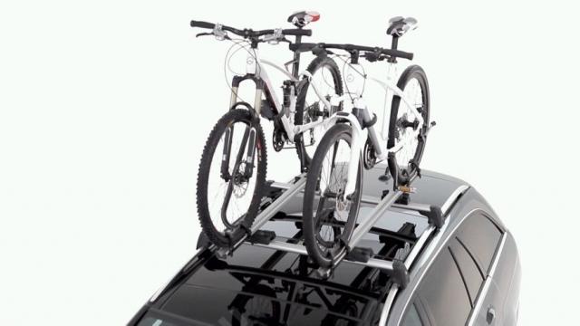Фото Крепление для велосипеда на крышу, алюминий A000890029364