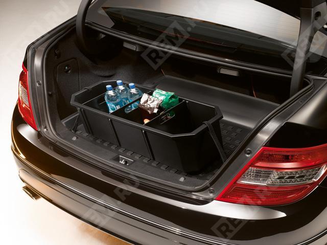 Поддон в багажник (седан, пол с подъемом) A2048140141
