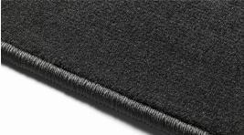 Фото Комплект текстильных ковров салона, черные 31426679