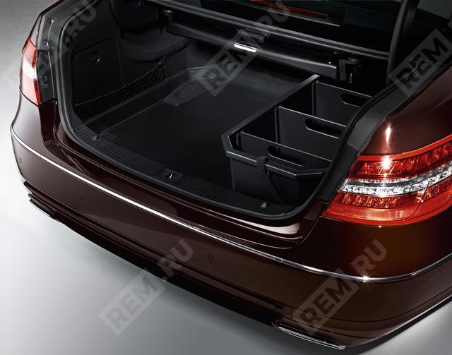 Поддон в багажник, низкий борт (седан, пол с подъемом) A2128140141