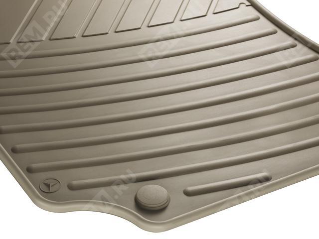 Комплект резиновых ковров салона, бежевые A21268033488P95