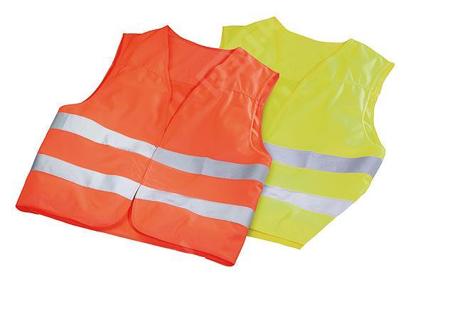 Жилет аварийный в мешке, оранжевый и желтый A0005830361