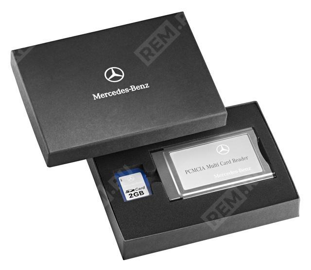 Устройство считывания карт памяти PCMCIA Multi-Card Reader + SD карта 2Gb B67823980