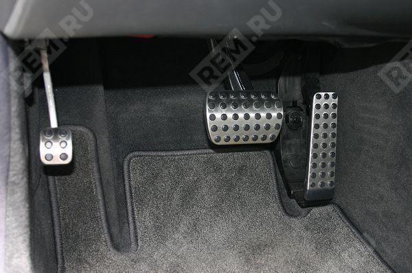 Накладка педали стояночного тормоза, нержавеющая сталь A2034300084