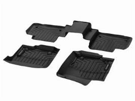 Ковры салона резиновые для 1-го и 2-го ряда сидений, черные A16668035019051