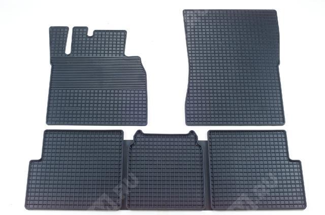 Комплект резиновых ковров салона, антрацит B66680152