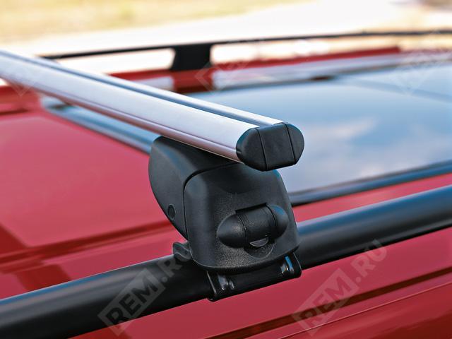 Багажные поперечины на крышу с рейлингами, алюминий B66560449