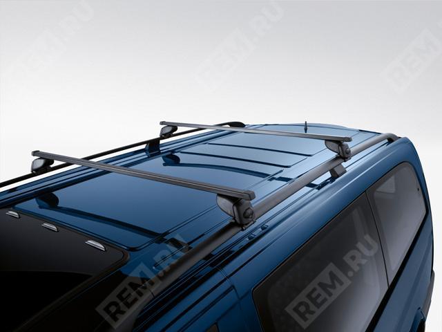 Багажные поперечины на крышу с рейлингами, сталь B66560450