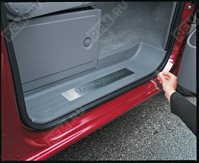 Пленка защитная на дверные пороги, прозрачная B66560464