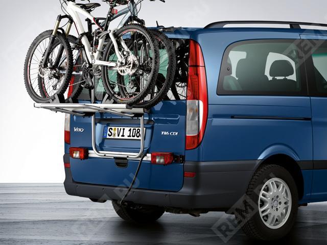 Крепление для 2-х велосипедов на дверь багажника B66560456