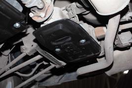 Защиты топливного бака и редуктора поликарбонат 7711547989