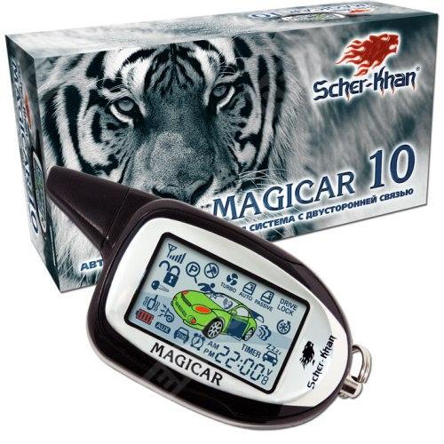 Сигнализация Scher-Khan Magicar 10 с обратной связью D000000054