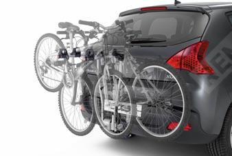 Крепление для 4-х велосипедов на фаркоп 9416F6
