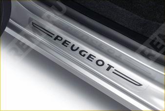 Накладки на передние пороги, с логотипом 9419F1