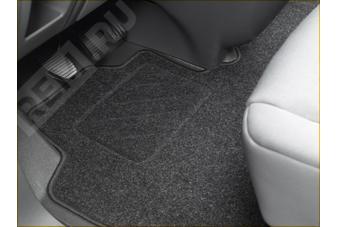 966324  ковры салона текстильные для 2-го и 3-го ряда сидений (фото 1)