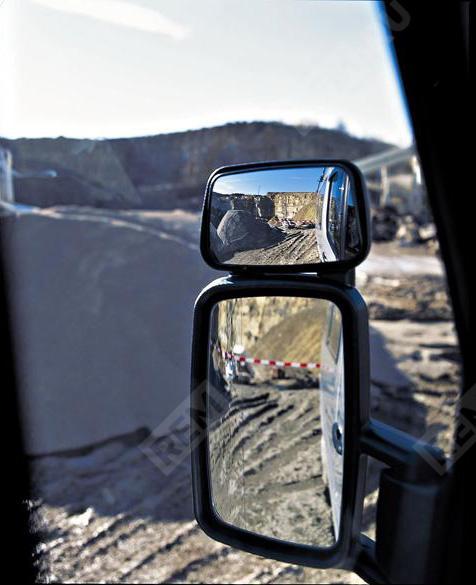 Зеркало широкого обзора, левое B66560397