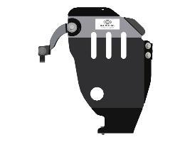 Защита редуктора стальная R4010C5002