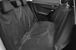 Фото Чехол на заднее сиденье, универсальный 1607075880