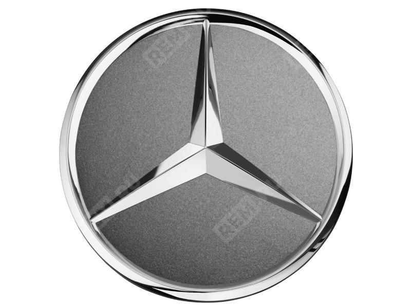 Колпачок литого диска с хромированной звездой, серый гималаи A22040001257756