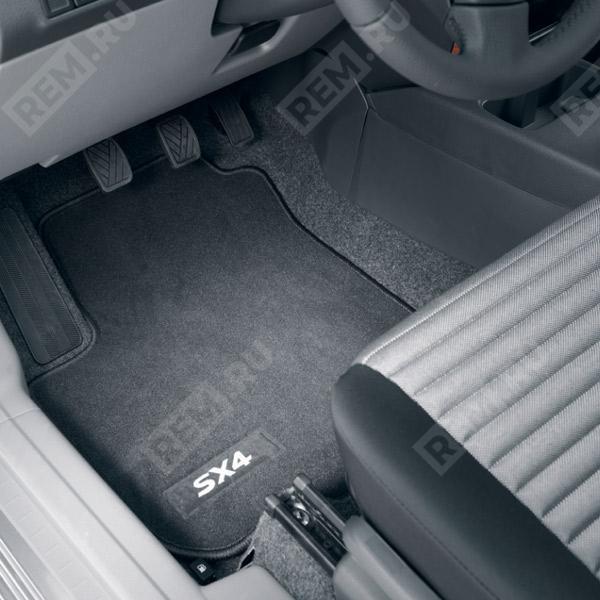 Комплект текстильных ковров салона DLX 990E079J36000