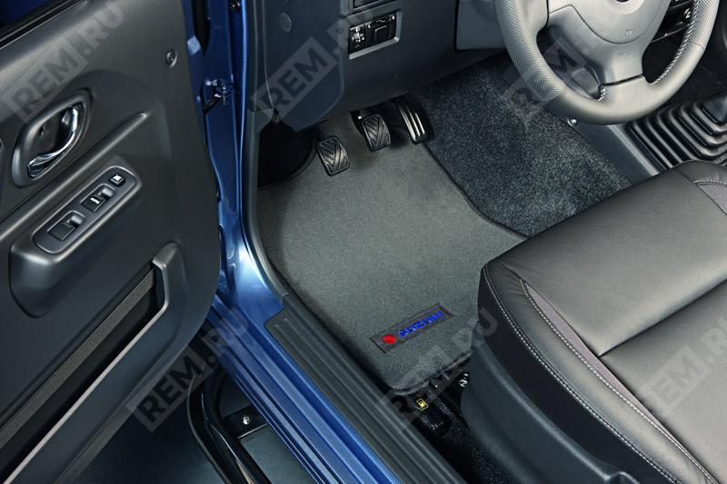 Комплект текстильных ковров салона DLX 99000990YR178