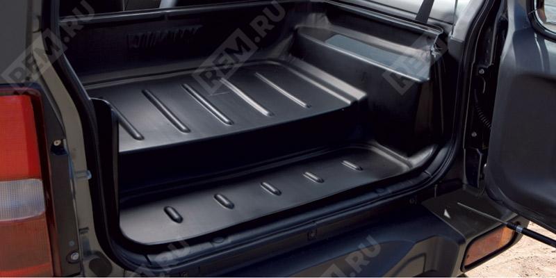 Поддон в багажник, для сложенных задних сидений 990E081A01000
