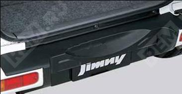 Пленка защитная на порог заднего бампера, черная 99000990AB043