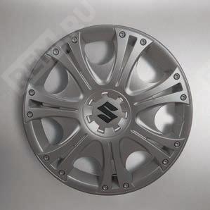 """Комплект колпаков для стальных дисков 15"""", Aruba, антрацит 990E086G30000"""