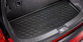 Фото Ковер в багажник резиновый (для а/м с органайзером) 990E051K76000