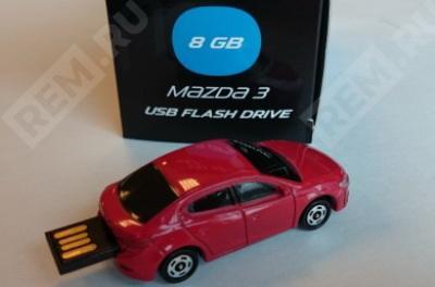 Фото USB-накопитель в форме Mazda3, 8 Gb 830077726