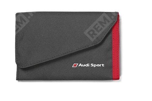 Фото Кошелек Audi Sport Wallet, Black/Red 3151600400