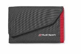 Фото Кошелек Audi Sport Wallet, Black/Red 3151600400