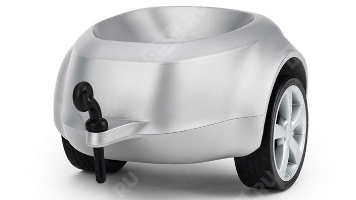 Фото Прицеп к детскому автомобилю Audi Junior quattro trailer silver 3201200210