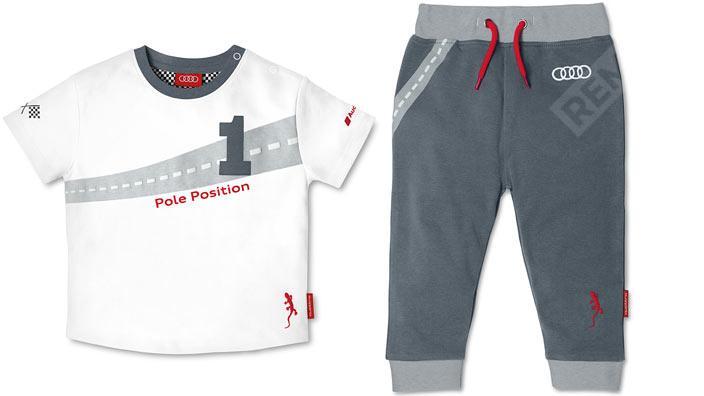 Фото Детская футболка+штаны, 62/68, Audi Spor 3201400501