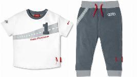Фото Детская футболка+штаны, 98/104, Audi Spo 3201400504