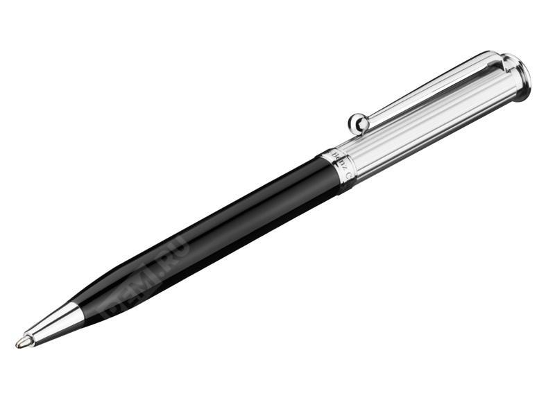 Шариковая ручка, черный, металл B66043350