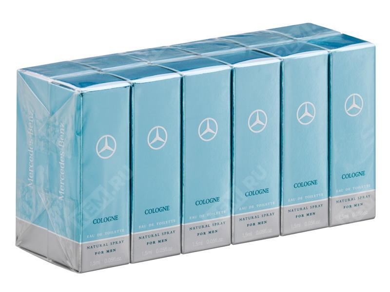 Фото Парфюмерия Mercedes-Benz Cologne для мужчин, пробники, 12 шт B66958572