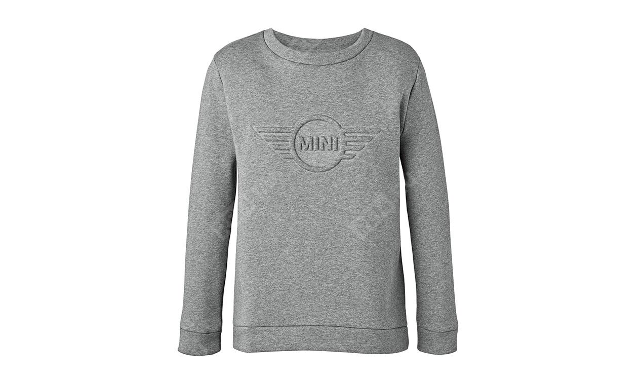 Фото Женский джемпер MINI Wing Logo 3D, серый, размер L 80142445586