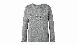 Фото Женский джемпер MINI Wing Logo 3D, серый, размер XL 80142445587