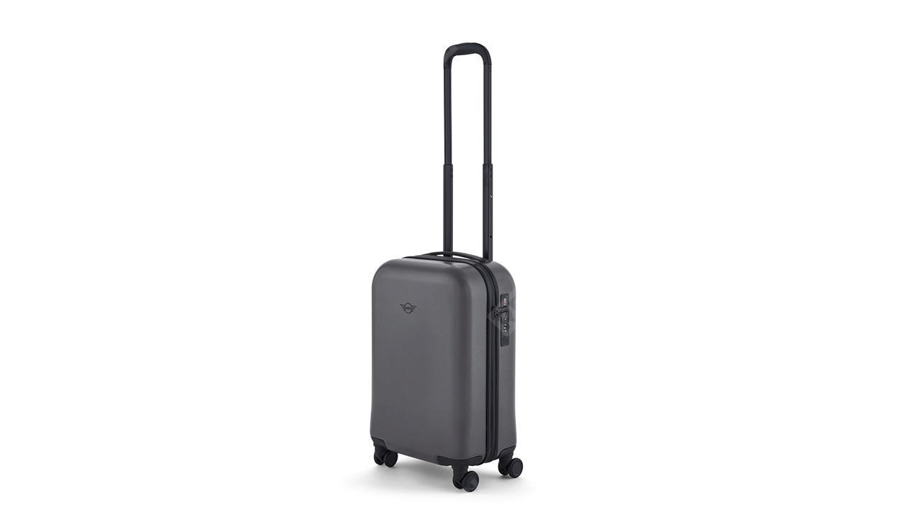 Фото Компактный чемодан MINI на колесиках, серый 80222445676